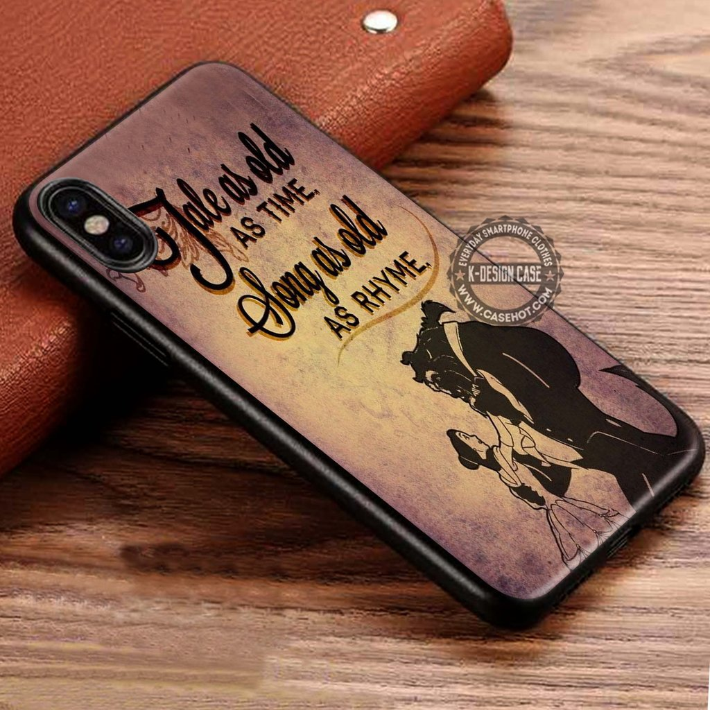 Tale As Old As Time Beauty And The Beast Quotes Iphone X 8 7 Plus