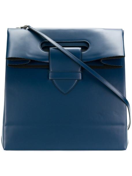 GOLDEN GOOSE DELUXE BRAND women american bag leather blue