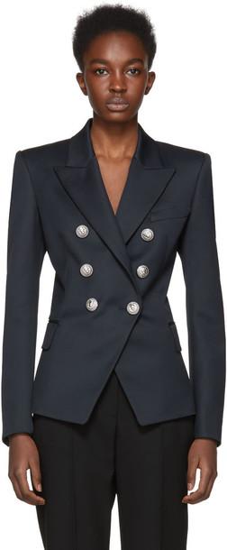 Balmain blazer navy jacket