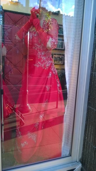 dress red dress sparkly sparkly dress