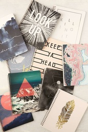 home accessory,urban outfitters,notebook,spiral notebooks,tumblr