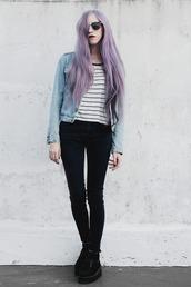 jenn potter,jenn ann   personal style & lifestyle blog - argentina,blogger,jacket,shirt,jeans
