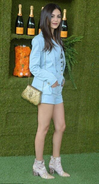 shoes boots shorts jacket victoria justice ankle boots
