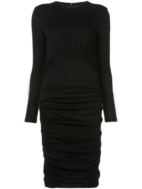 Yigal Azrouel dress women black wool
