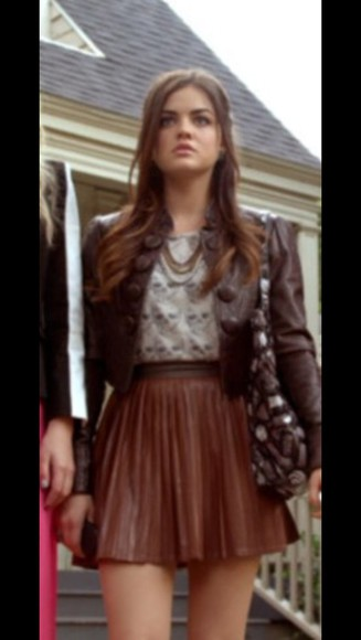 brown skirt beautiful prettylittlething celebrity style