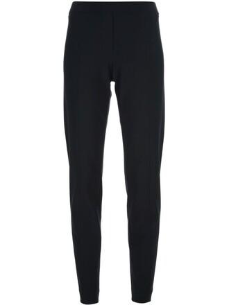 women spandex fit black pants