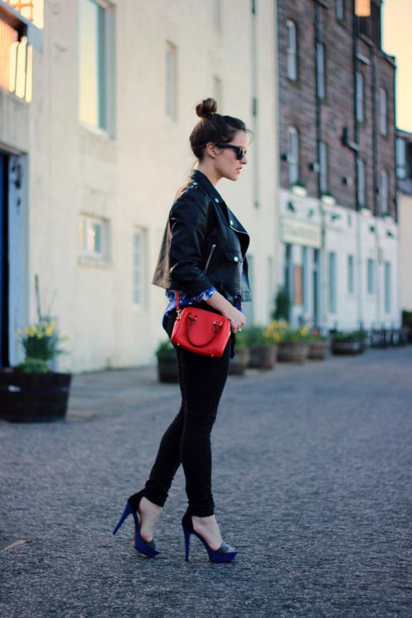 the little magpie blouse jeans jacket bag shoes