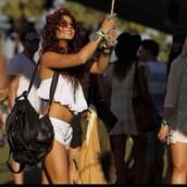 shirt,vanessa hudgens,coachella,white lace shorts,boho,bag,shorts