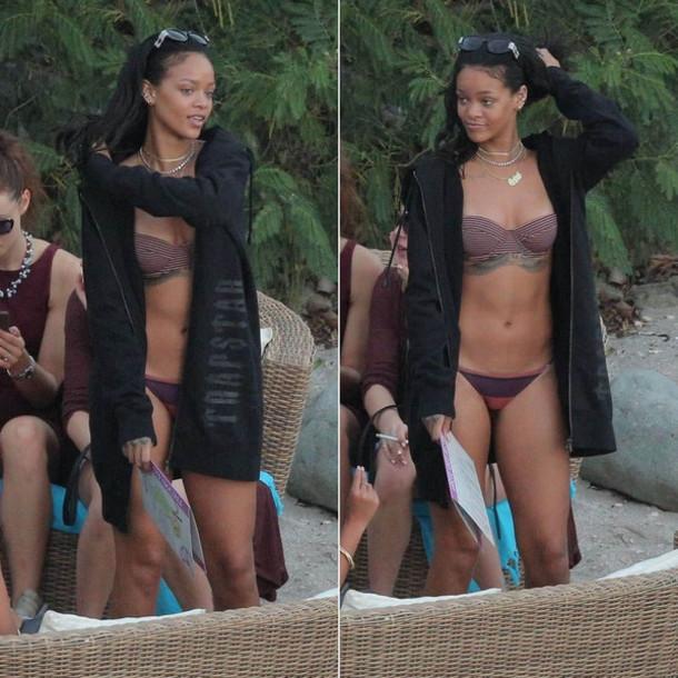 rihanna summer outfits bikini