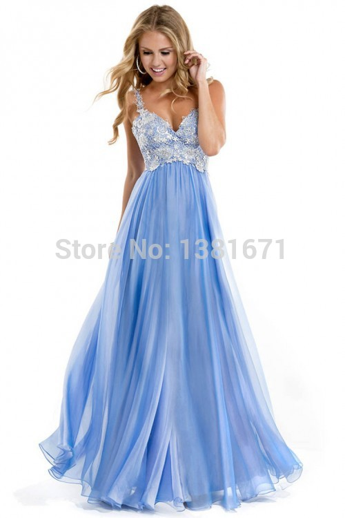 Aliexpress.com : Buy Ever Pretty Brand Sexy V neck Crystal Spaghetti Straps Luxury Evening Dress Vestido De Renda from Reliable dresses for larger ladies suppliers on Aojia Top Evening Dress