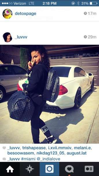 india westbrooks jordans louis vuitton bookbag curly hair victoria's secret pink by victorias secret pink