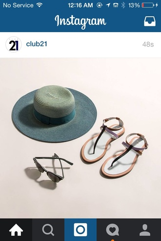 sunglasses hat style fashion summer holidays leather sandals flat sandals minimalist shoes sun hat shoes summer accessories straw hat