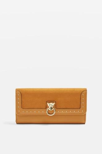 purse mustard bag