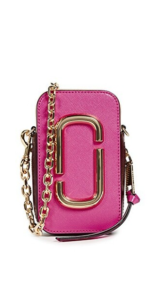 cross mini bag pink