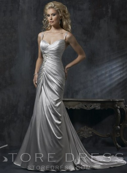 dress wedding dress vintage wedding dress mermaid wedding dresses
