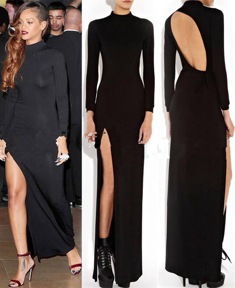 bandage dress prom dress bodycon dress celebrity dresses celebrity style women summer dress vestido de renda maxi dress black dresses long sleeve dress Open back dress women dress vestido de festa blouse