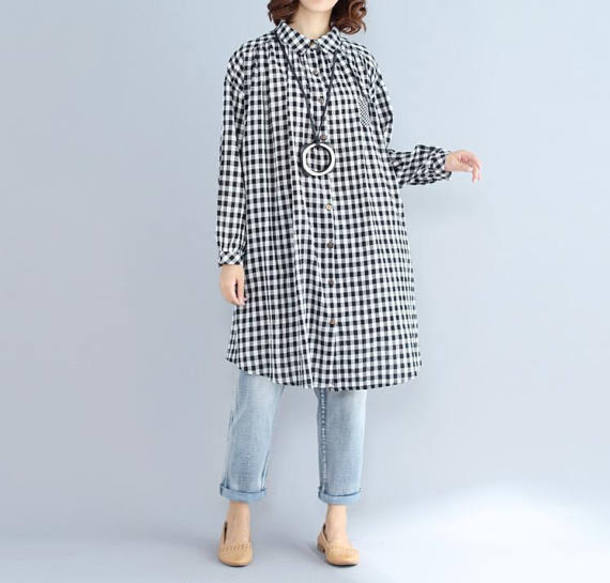 shirt cotton long shirt