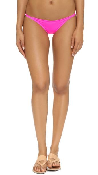 Solid & Striped The Morgan Bikini Bottoms - Hot Pink