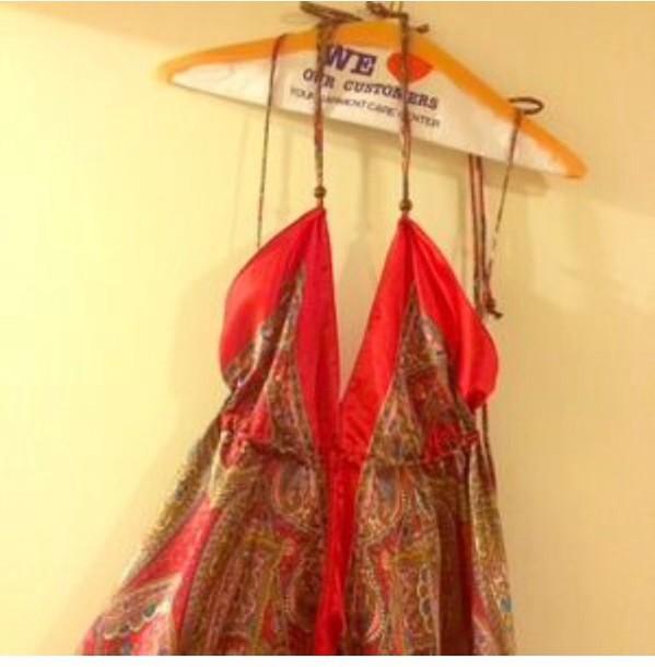 dress satin dress spaghetti strap red dress holiday dress patterened dress