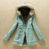 coat,jacket,cotton,wool coat,thick,slim