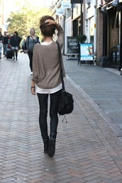 indie,grey,blue,jeans,bag,black,diesel,military style,boots,hair,skinny,denim,jeggings,knitwear,band,white top,t-shirt,pull,brown,shoes,pullover,sweater