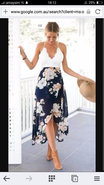 dress floral pretty