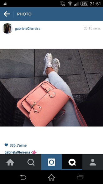 bag pink little handbags handbags for women handbag