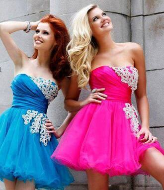 dress pink dress pink blue blue dress dress strass