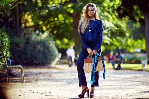 kayture blogger bag jewels scarf