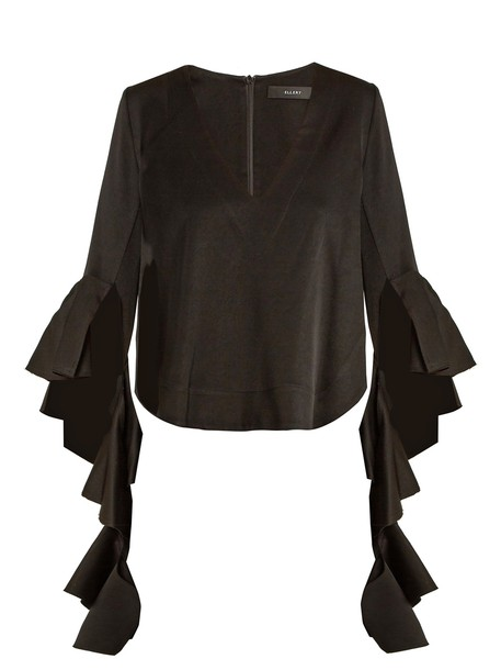 ellery blouse black top