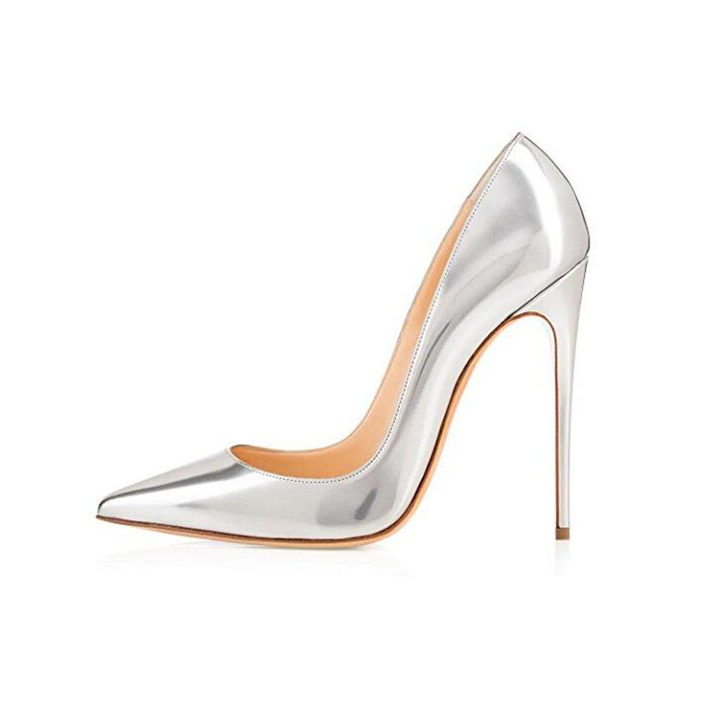 0ca379dace3 Amazon.com   Elisabet Tang High Heels, Womens Pointed Toe Slip on Stilettos  Party Wedding Pumps Basic Shoes   Pumps