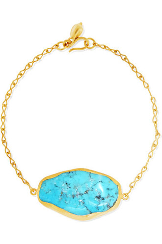 gold turquoise jewels