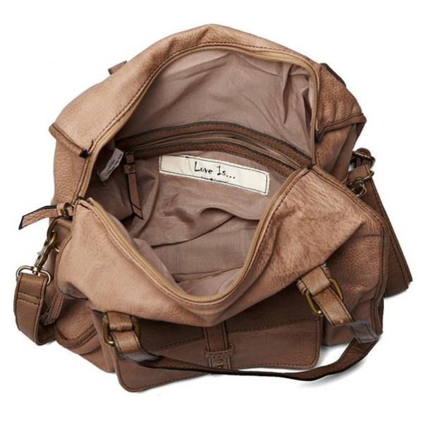 bag brown big cute