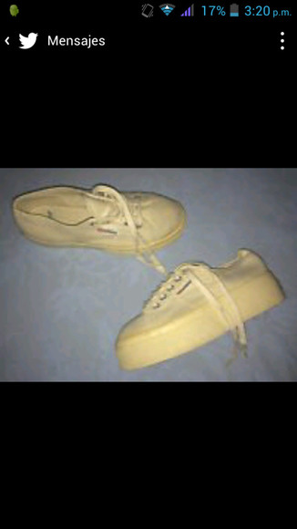 beige shoes shoes superga supergas
