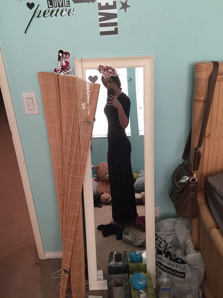 dress black dress maxi dress long dress