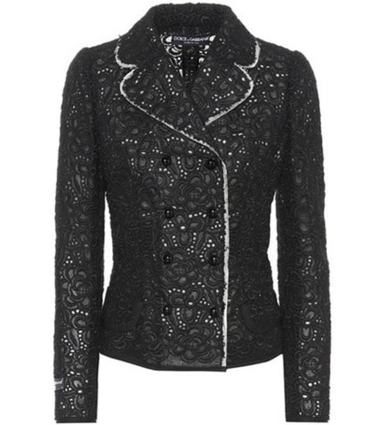 Dolce & Gabbana Lace jacket in black