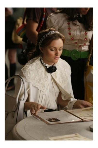 blair waldorf gossip girl leighton meister leighton meester white jacket jacket