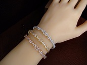 jewels,body kandy couture,diamonds,layering bracelets,baguettes,silver,gold,tennis bracelet,bolo,bracelets,stacked bracelets,stacked,baguette,fall accessories,wedding accessories,cuff bracelet,cubic zirconia bracelet,rose gold,trendy,holiday gift,wedding gift