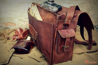 bag leather bag vintage back to school