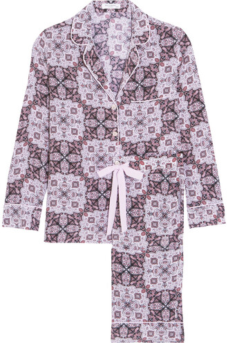 silk lilac underwear