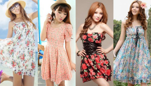 dress cute cute dress summer summer dress floral dress flowers