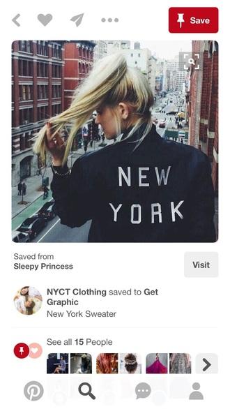 jacket black black and white dress new york city tumblr grunge bomber jacket