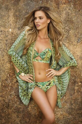 swimwear cover up designer swimwear paradizia bikiniluxe