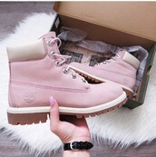 shoes,timberlands,timberland boots shoes,pink,timberland