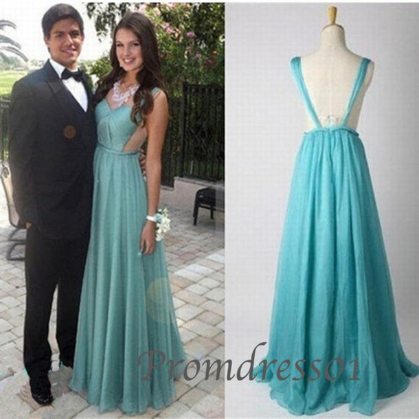 Backless prom dress cheap