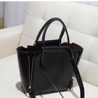 bag black zip