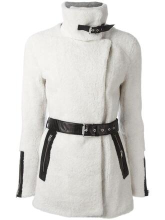jacket women spandex leather nude