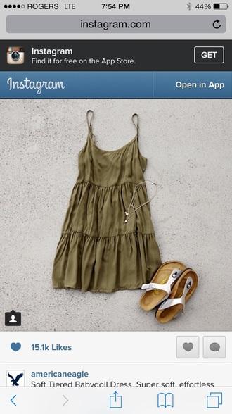dress green dress pleated babydoll dress pretty dress love