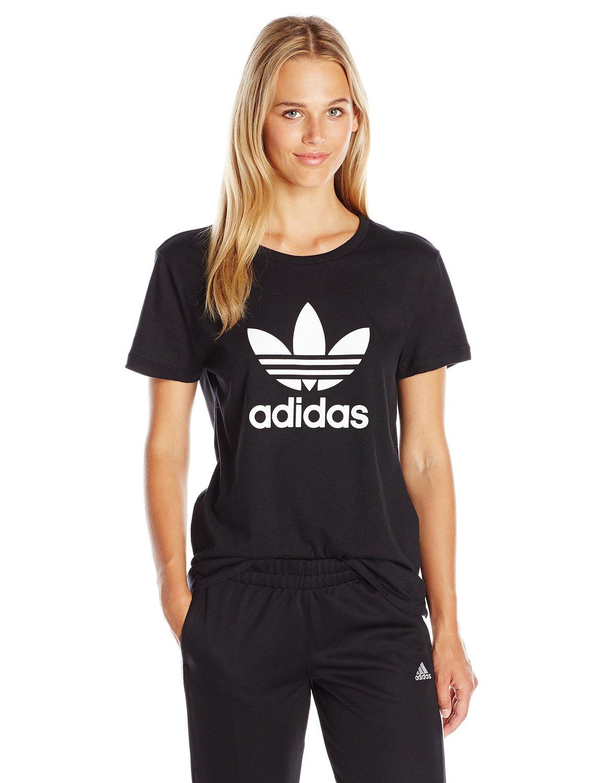 a9d484370da62 adidas Originals Women's Trefoil Tee at Amazon Women's Clothing store:
