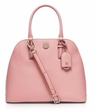 bag dusty pink classy tory burch pink bag designer bag all pink wishlist